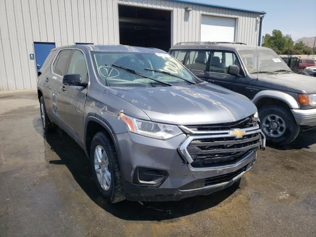 Salvage cars for sale from Copart Colton, CA: 2018 Chevrolet Traverse L
