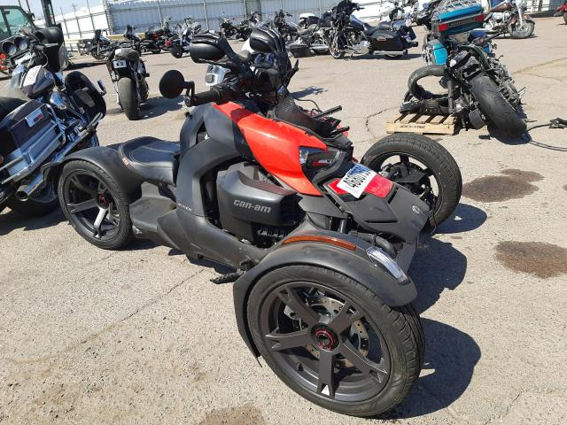 Salvage cars for sale from Copart Phoenix, AZ: 2020 Can-Am Ryker
