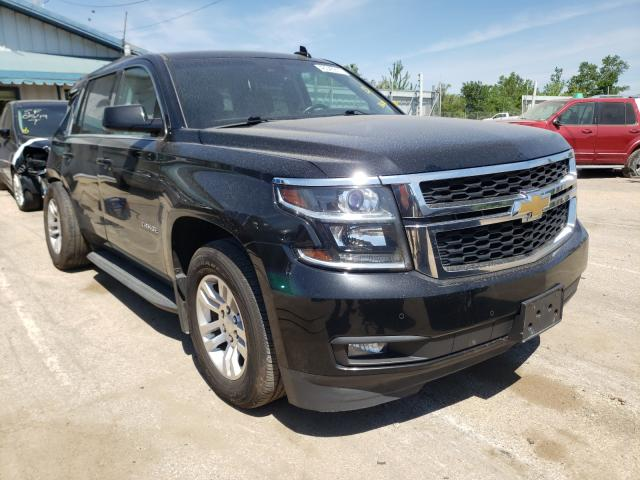 Salvage cars for sale from Copart Pekin, IL: 2016 Chevrolet Tahoe K150