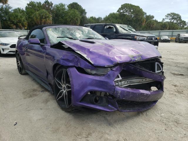 2017 Ford Mustang en venta en Fort Pierce, FL