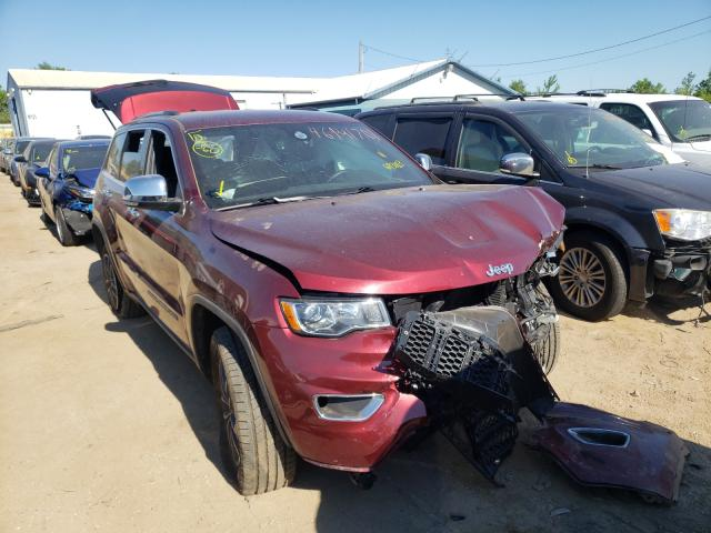 Salvage cars for sale from Copart Pekin, IL: 2019 Jeep Cherokee