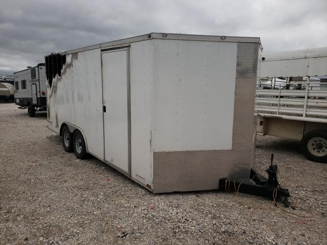 Cargo salvage cars for sale: 2017 Cargo Trailer
