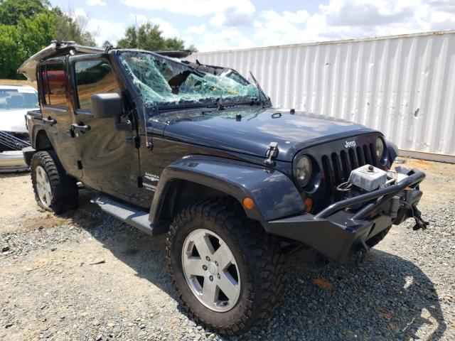 Salvage cars for sale from Copart Concord, NC: 2011 Jeep Wrangler U