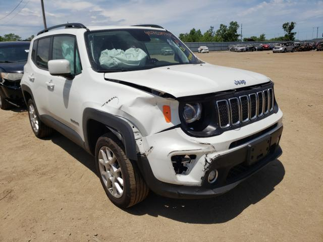 Salvage cars for sale from Copart Pekin, IL: 2019 Jeep Renegade L