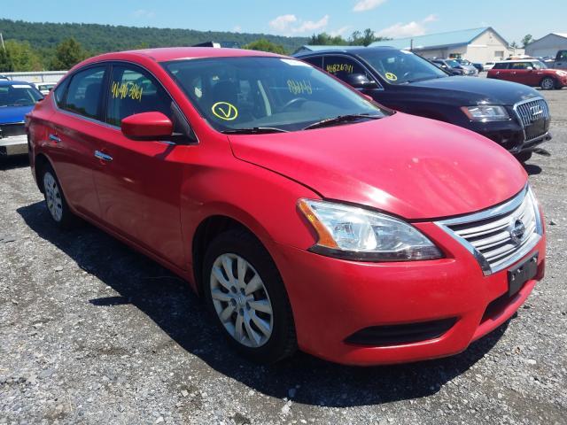 Vehiculos salvage en venta de Copart Grantville, PA: 2015 Nissan Sentra S