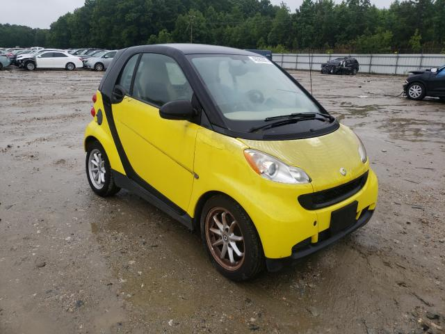 Salvage cars for sale from Copart Hampton, VA: 2008 Smart Fortwo PUR
