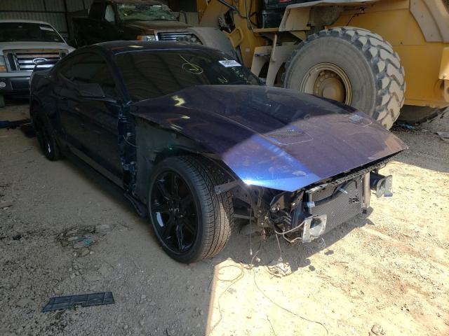 Salvage cars for sale from Copart Houston, TX: 2020 Ford Mustang GT