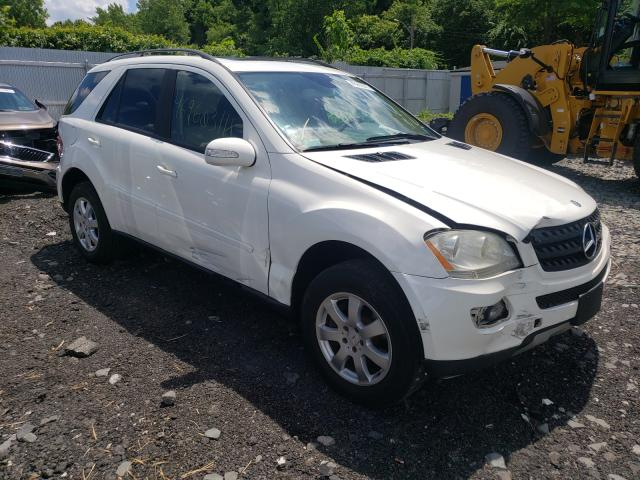 Salvage cars for sale from Copart Marlboro, NY: 2006 Mercedes-Benz ML 350