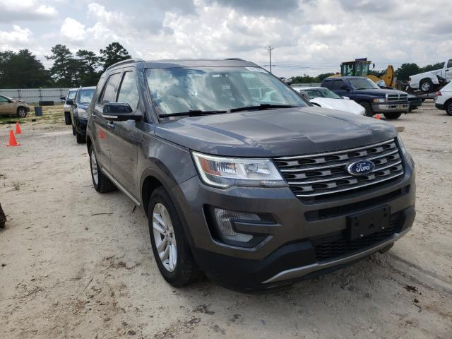 Salvage cars for sale from Copart Newton, AL: 2017 Ford Explorer X