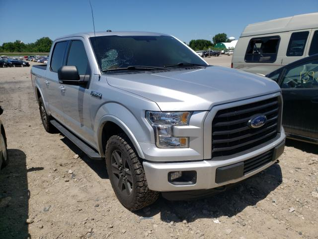 Salvage cars for sale from Copart Lansing, MI: 2016 Ford F150 Super
