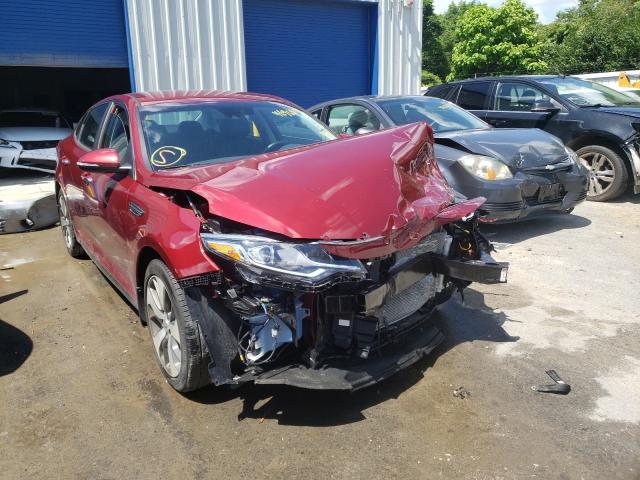 Salvage cars for sale from Copart Glassboro, NJ: 2020 KIA Optima LX