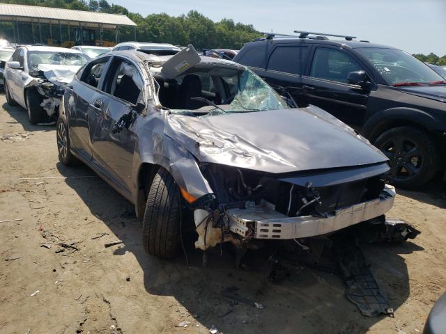 Vehiculos salvage en venta de Copart Austell, GA: 2017 Honda Civic EX