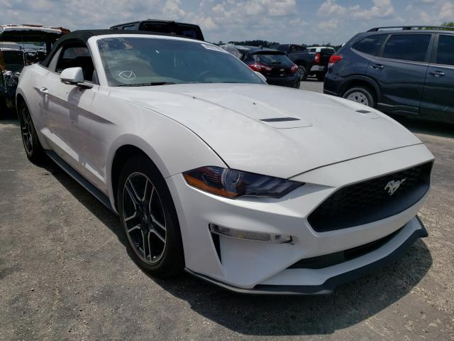 Salvage cars for sale from Copart Jacksonville, FL: 2020 Ford Mustang