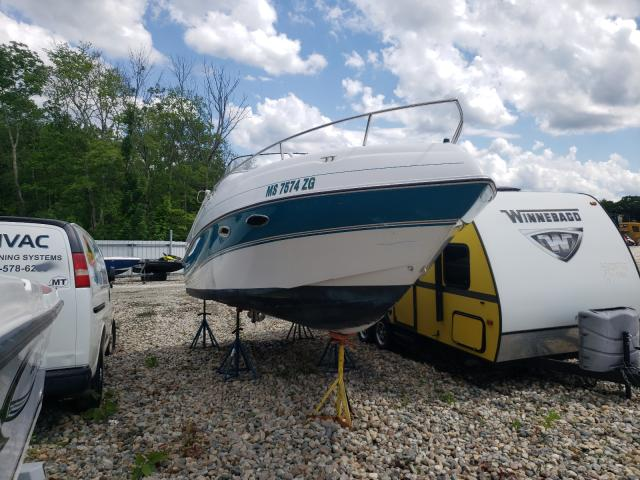 Salvage boats for sale at West Warren, MA auction: 1996 Four Winds SUNDOWN215
