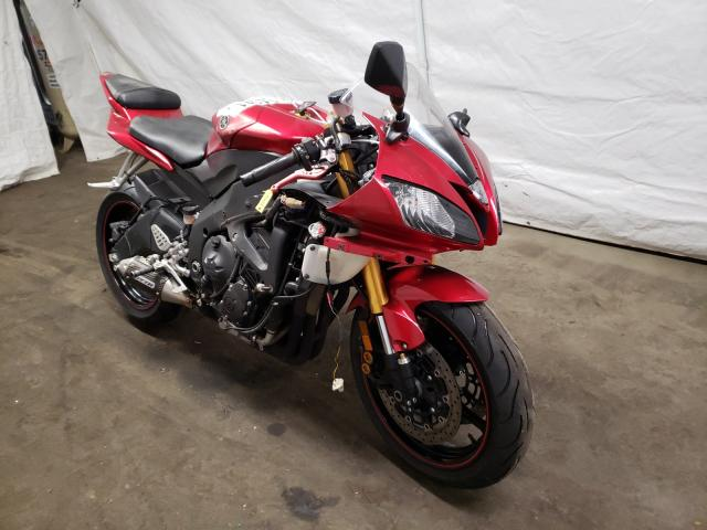 Salvage motorcycles for sale at Windsor, NJ auction: 2007 Yamaha YZFR6 L
