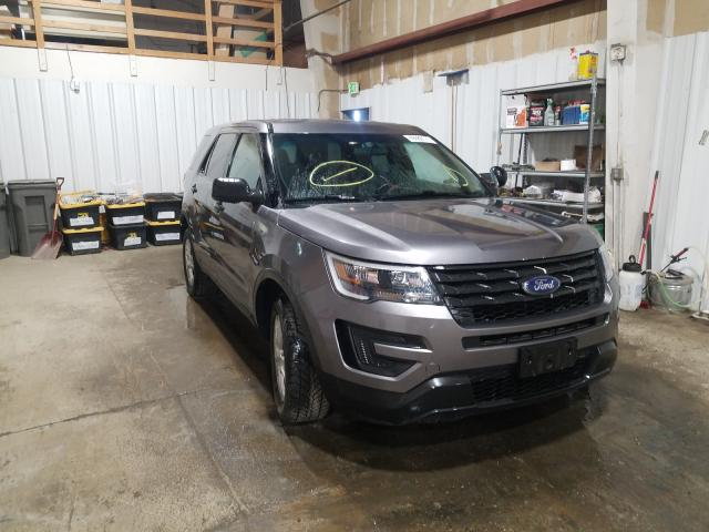 Salvage cars for sale from Copart Anchorage, AK: 2016 Ford Explorer P