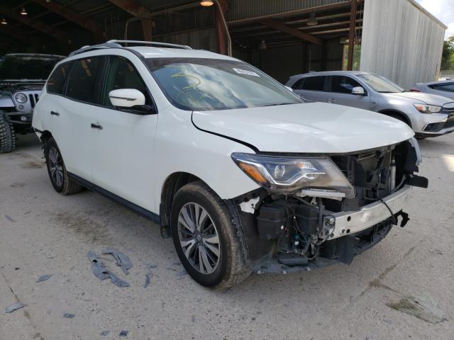Nissan Pathfinder salvage cars for sale: 2017 Nissan Pathfinder