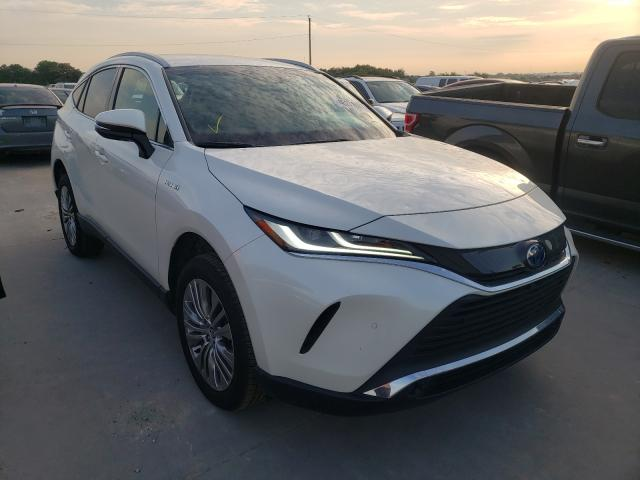 Toyota salvage cars for sale: 2021 Toyota Venza
