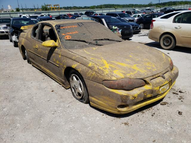 Salvage cars for sale from Copart Kansas City, KS: 2002 Chevrolet Monte Carl