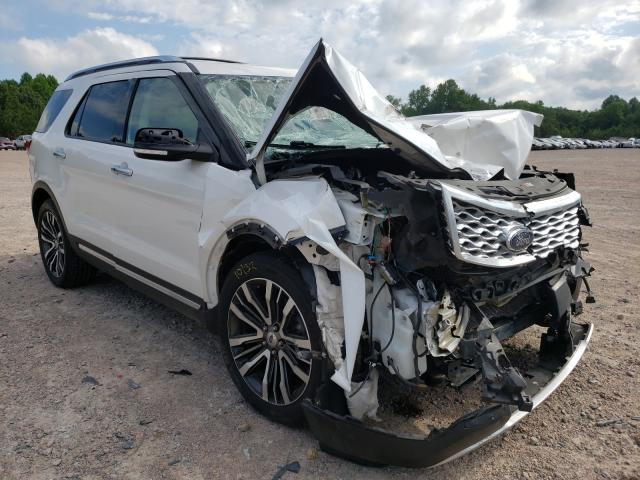 Salvage cars for sale from Copart Charles City, VA: 2016 Ford Explorer P