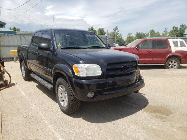 Salvage cars for sale from Copart Pekin, IL: 2005 Toyota Tundra DOU
