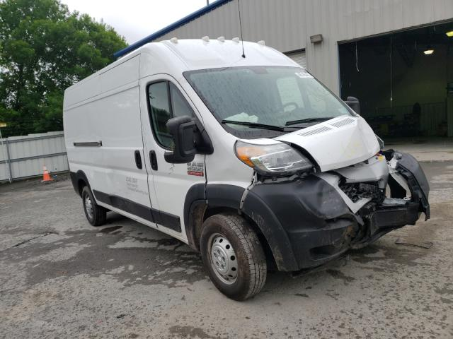 Salvage cars for sale from Copart Albany, NY: 2019 Dodge RAM Promaster