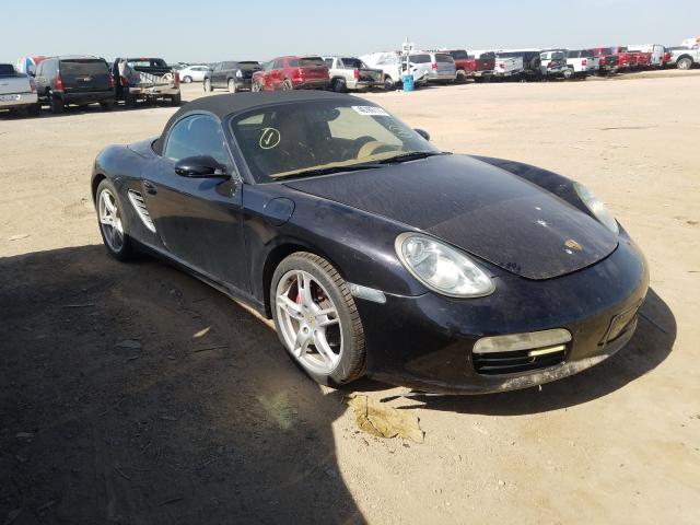 Porsche salvage cars for sale: 2006 Porsche Boxster