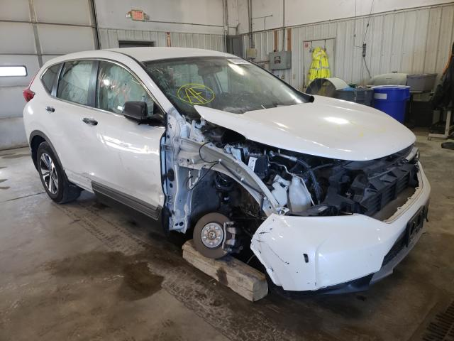 Salvage cars for sale from Copart Columbia, MO: 2018 Honda CR-V LX
