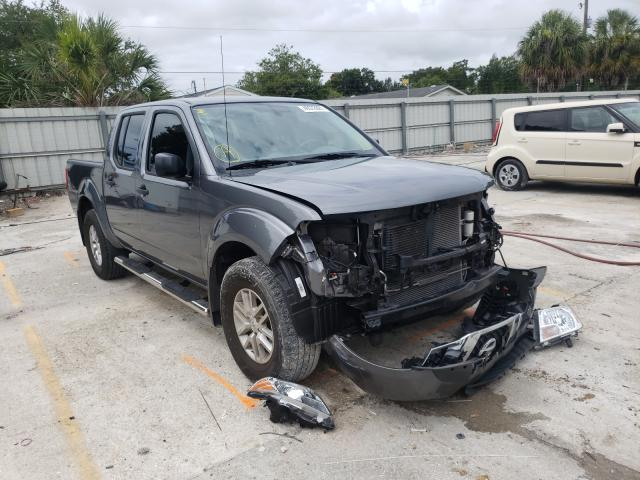 Salvage cars for sale from Copart Punta Gorda, FL: 2019 Nissan Frontier S