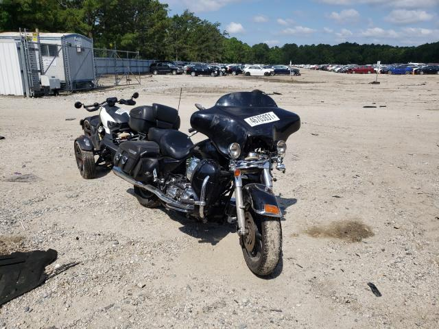 Salvage cars for sale from Copart Hampton, VA: 2004 Harley-Davidson Flhtpi