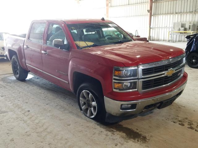 Salvage trucks for sale at Greenwell Springs, LA auction: 2014 Chevrolet Silverado