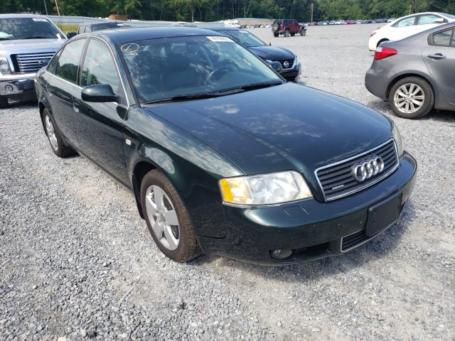 Salvage cars for sale from Copart Gastonia, NC: 2003 Audi A6 3.0 Quattro