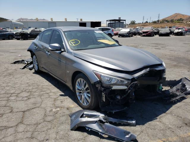 Salvage cars for sale from Copart Colton, CA: 2020 Infiniti Q50 Pure