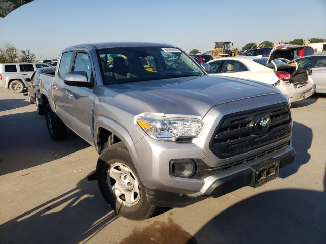 Salvage cars for sale from Copart Grand Prairie, TX: 2018 Toyota Tacoma DOU