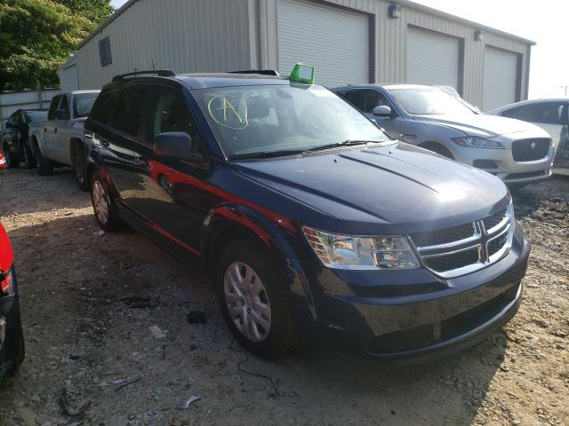 Salvage cars for sale from Copart Gainesville, GA: 2020 Dodge Journey SE