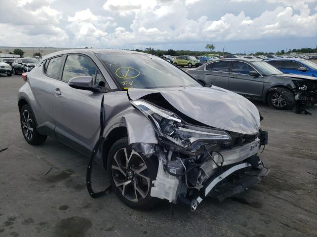 Salvage cars for sale from Copart Orlando, FL: 2018 Toyota C-HR XLE