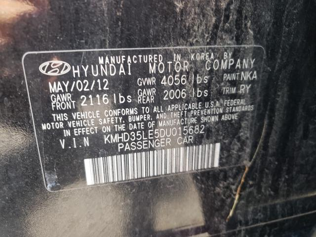 2013 HYUNDAI ELANTRA GT KMHD35LE5DU015682