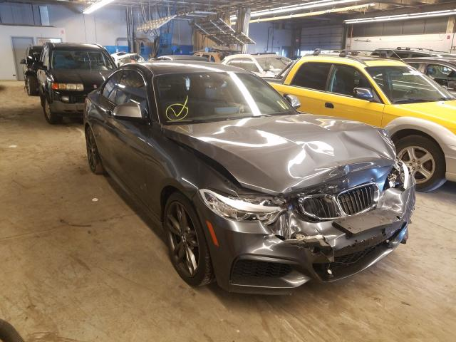Salvage cars for sale from Copart Wheeling, IL: 2016 BMW M235I