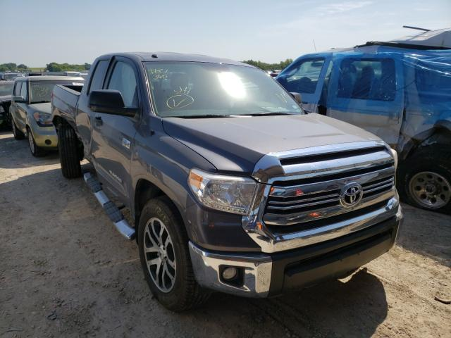 Salvage cars for sale from Copart Temple, TX: 2016 Toyota Tundra DOU