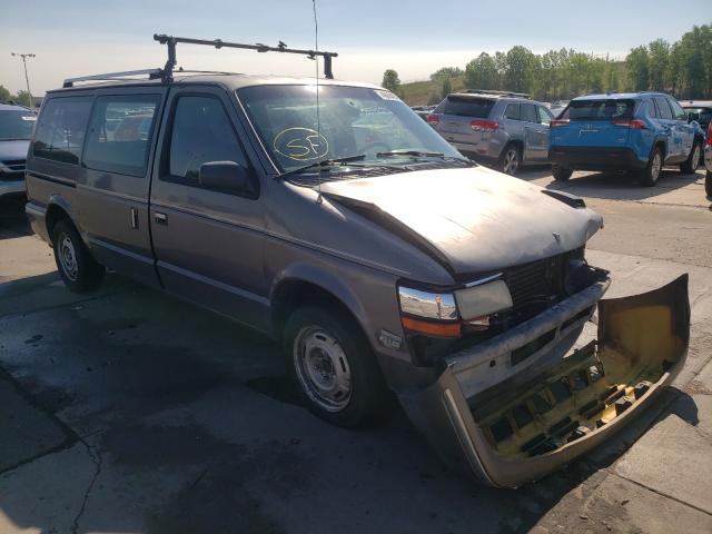 Plymouth salvage cars for sale: 1991 Plymouth Grand Voyager