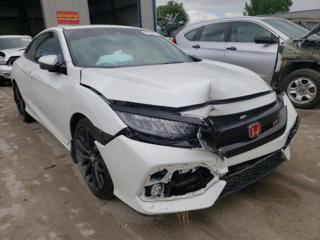 Salvage cars for sale from Copart Duryea, PA: 2020 Honda Civic SI
