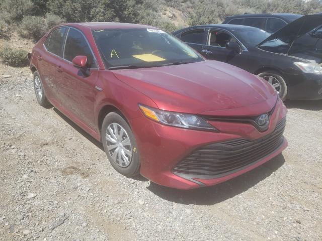 Salvage cars for sale from Copart Reno, NV: 2019 Toyota Camry LE