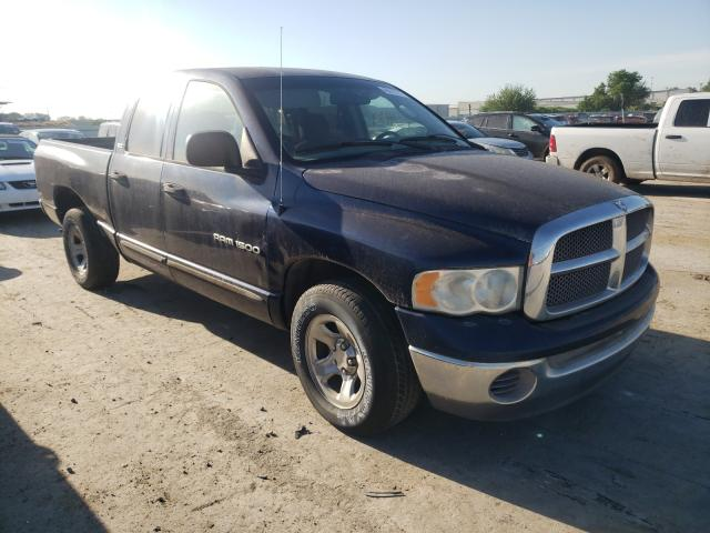 Salvage cars for sale from Copart Tulsa, OK: 2002 Dodge RAM 1500