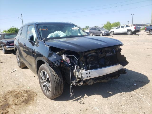 Vehiculos salvage en venta de Copart Indianapolis, IN: 2021 Toyota Highlander