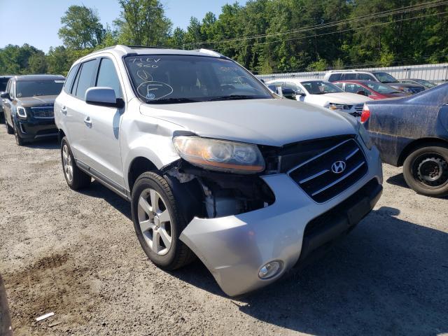 Vehiculos salvage en venta de Copart Fredericksburg, VA: 2009 Hyundai Santa FE S