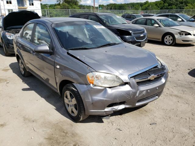 Salvage cars for sale from Copart Madison, WI: 2007 Chevrolet Aveo Base