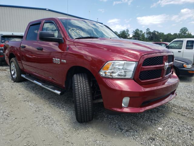 Salvage cars for sale from Copart Spartanburg, SC: 2014 Dodge RAM 1500 ST