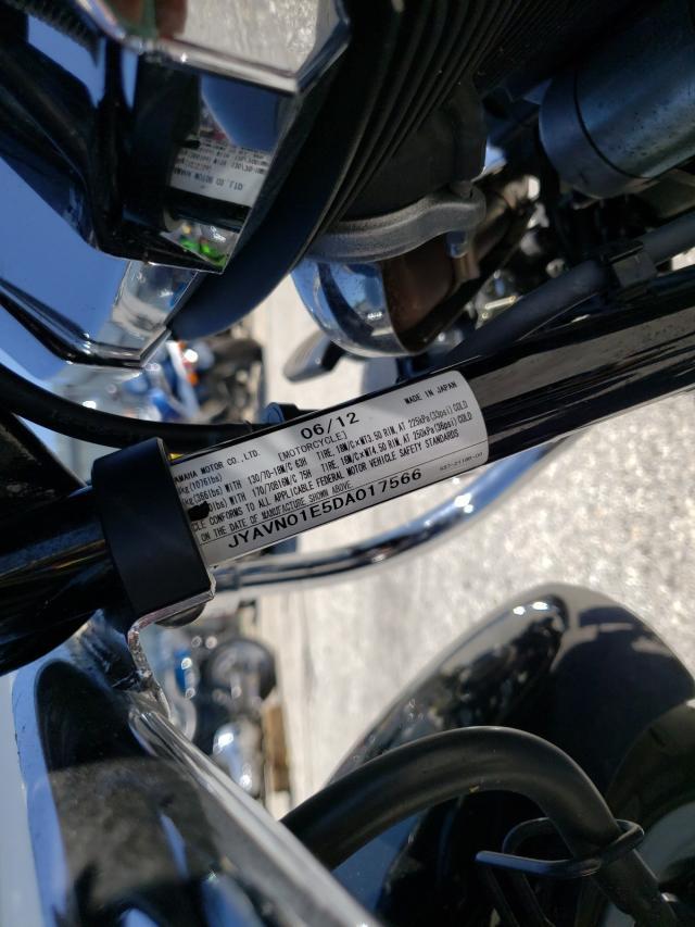 2013 YAMAHA XVS950 A JYAVN01E5DA017566