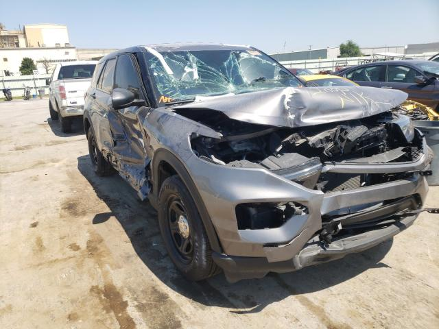 Salvage cars for sale from Copart Tulsa, OK: 2020 Ford Explorer P