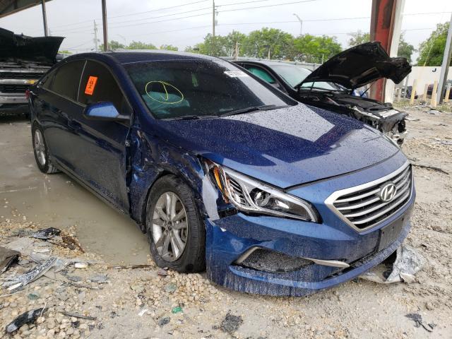 Salvage cars for sale from Copart Homestead, FL: 2016 Hyundai Sonata SE